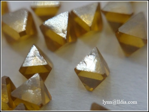 Octahedron Large Size Sharp Point Diamond