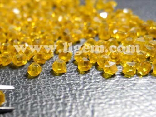 LiLiang Manufacturer HPHT Industrial LD960 Yellow Rough Diamond